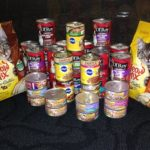 Pet food donations for the Great Falls Pet Food Drive