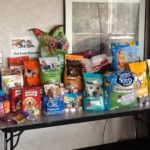 Pet food donations for the Michigan Pet Food Drive