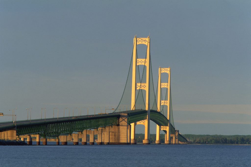 Photo of Mackinac Bridge, Michigan, USA