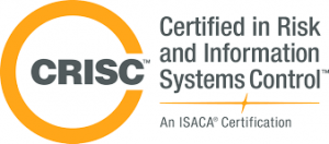 Logo of CRISC (Certified in Risk and Information Systems Control)
