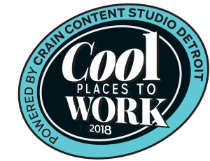 Crain's Cool Places to Work 2018 logo